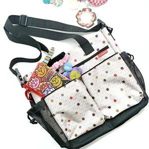 Skip Hop Diaper Baby Bag Messenger Style